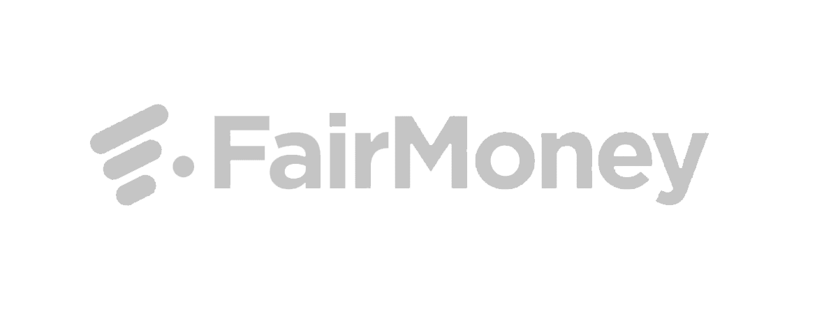fairmoney logo grey scale