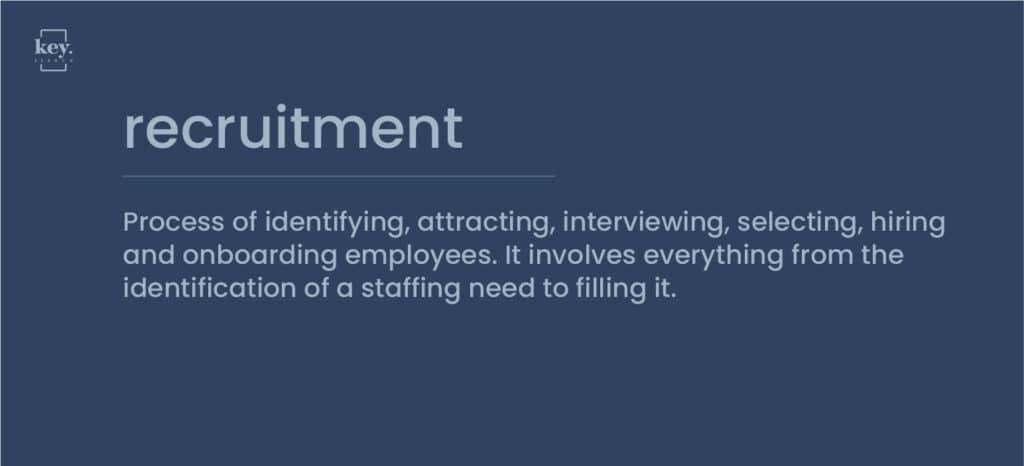 definition recruitment